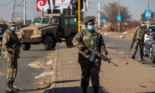 แอฟริกาใต้เรียกร้อง กองหนุนหยุดความไม่สงบ