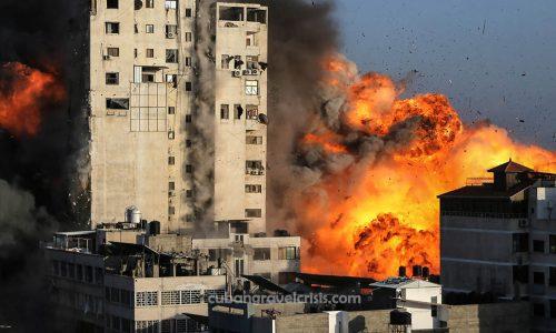 Israel โจมตีฉนวนกาซาหลังประท้วงรุนแรงตามแนวชายแดน