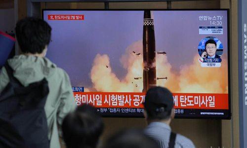 เกาหลีเหนือและเกาหลีใต้ ทดสอบขีปนาวุธ