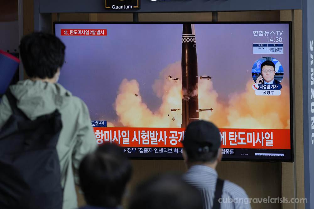 เกาหลีเหนือและเกาหลีใต้ ทดสอบขีปนาวุธ กันหลายชั่วโมงในวันพุธ เพื่อแสดงศักยภาพทางการทหาร ซึ่งแน่นอนว่าจะทำให้ความตึงเครียดระหว่างคู่แข่ง
