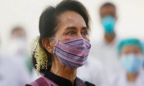AungSan SuuKyiขึ้นศาลฐานยุยงปลุกปั่น
