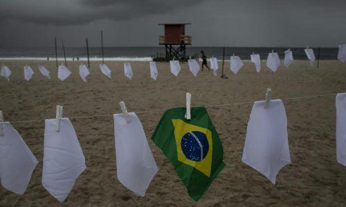 Brazil มีผู้เสียชีวิตจากไวรัส 600,000 ราย