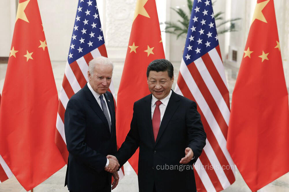 JoBiden เผชิญหน้ากับจีน