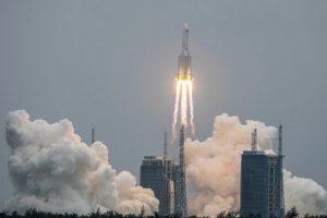 จีนเปิดตัวโมดูลสำคัญ ของสถานีอวกาศ