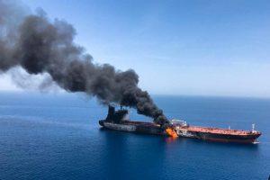เรือของ อิหร่านโจมตีในทะเลแดง